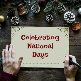 Celebrating National Days