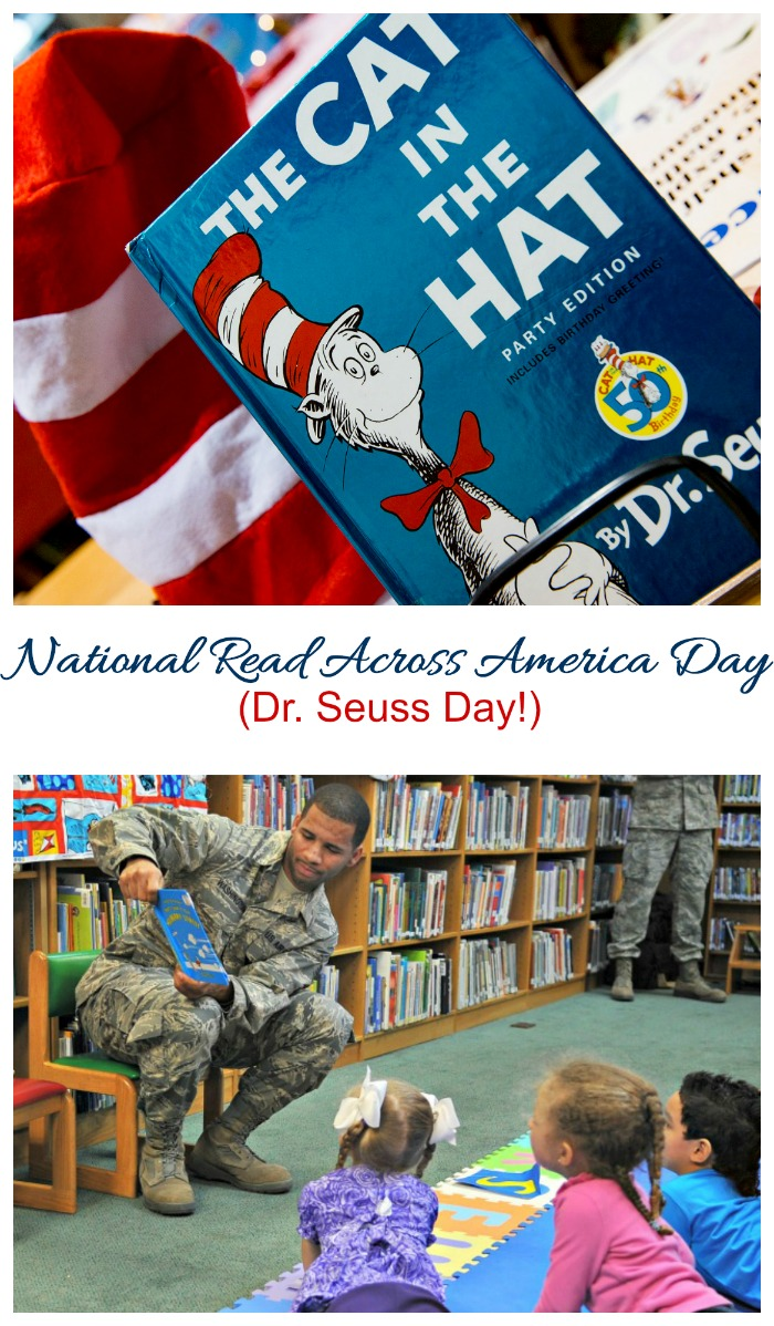March 2 is recognized as National Read Across America Day. (also known as Dr. Seuss Day.)