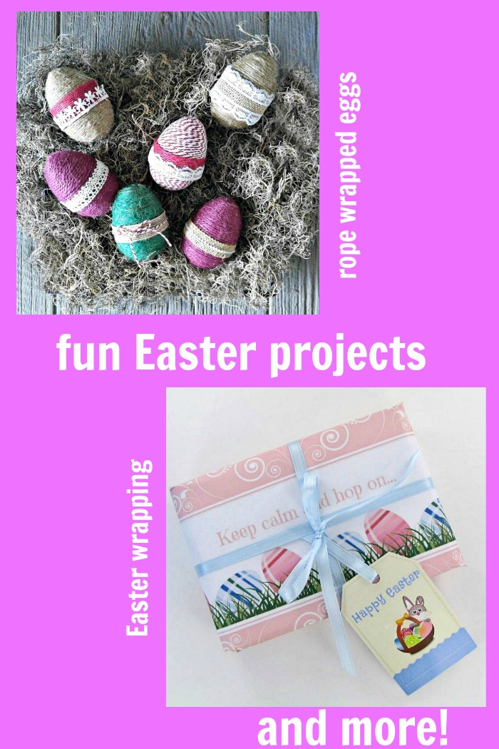 These Easter fun projects will have you cooking and crafting your way through a great holiday.