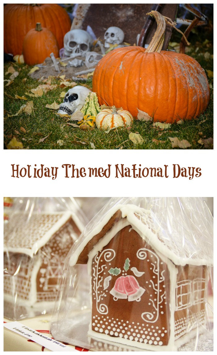 Holiday Themed National Days