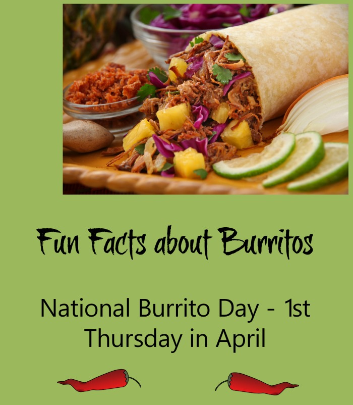 Check out these Fun facts about National Burrito Day