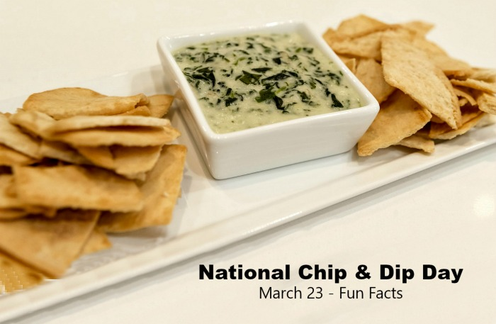 Fun Facts for National Chip and Dip Day