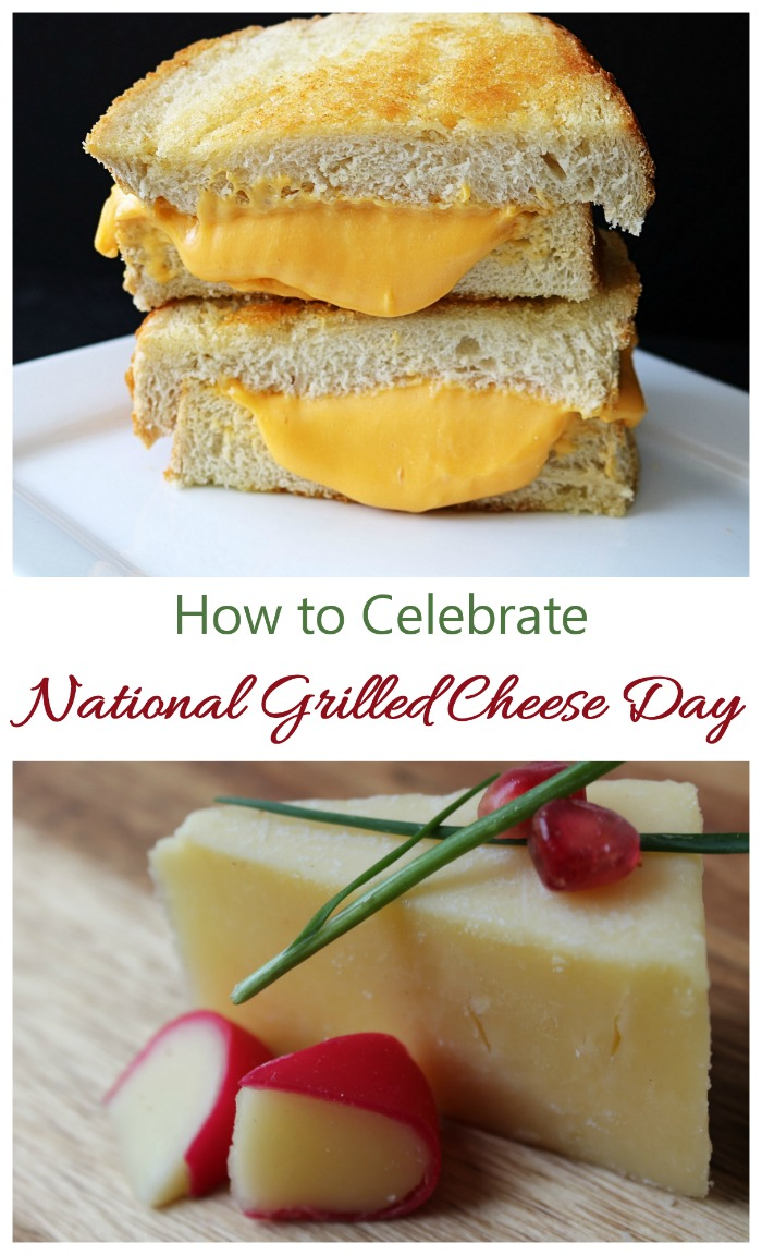 National Grilled Cheese day is the perfect day to try something new in the way of grilled cheese.