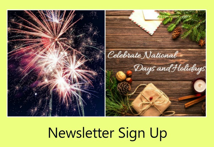 Newsletter Sign Up Form