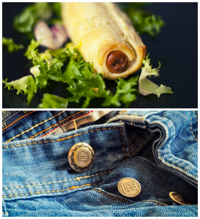 Celebrate National Pigs in a Blanket Day and Denim Day in April
