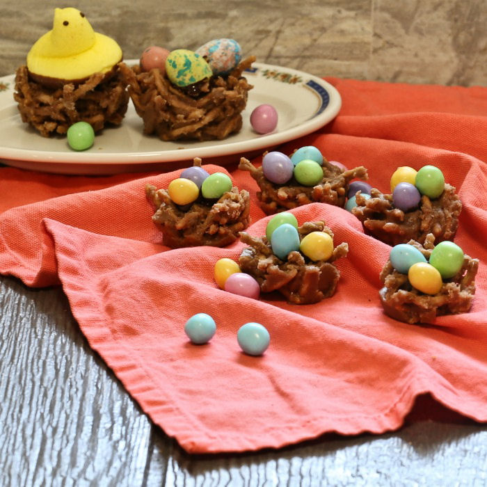 Yummy Easter nest cookies