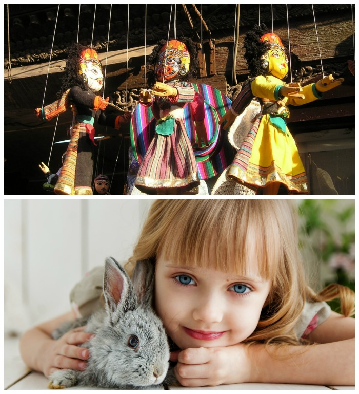National puppetry Day and Kids and Pets Day come in April