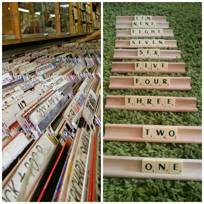National Record Store Day and National Scrabble Day come in April