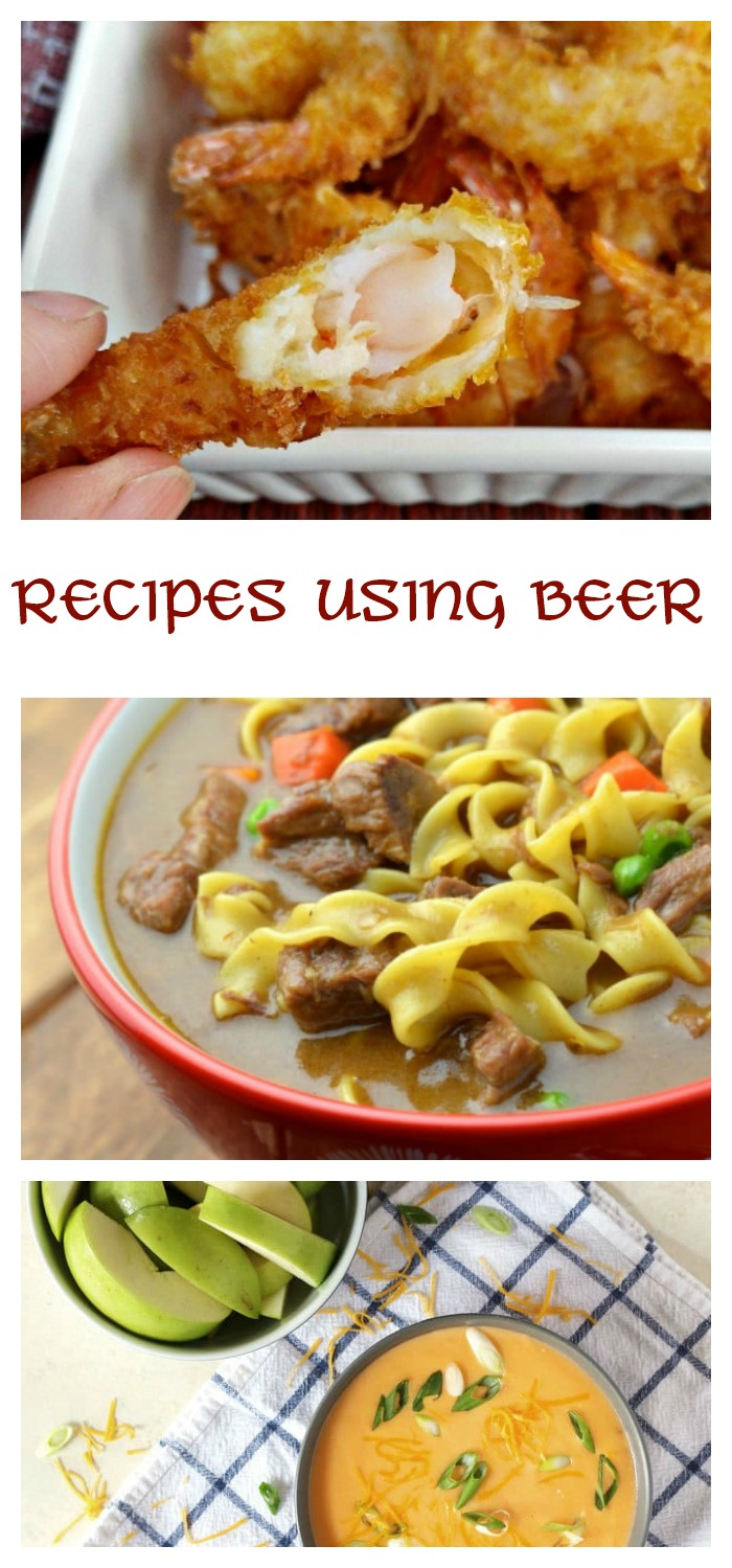 Beer gives loads of flavor to recipes. Check out these tasty ideas.