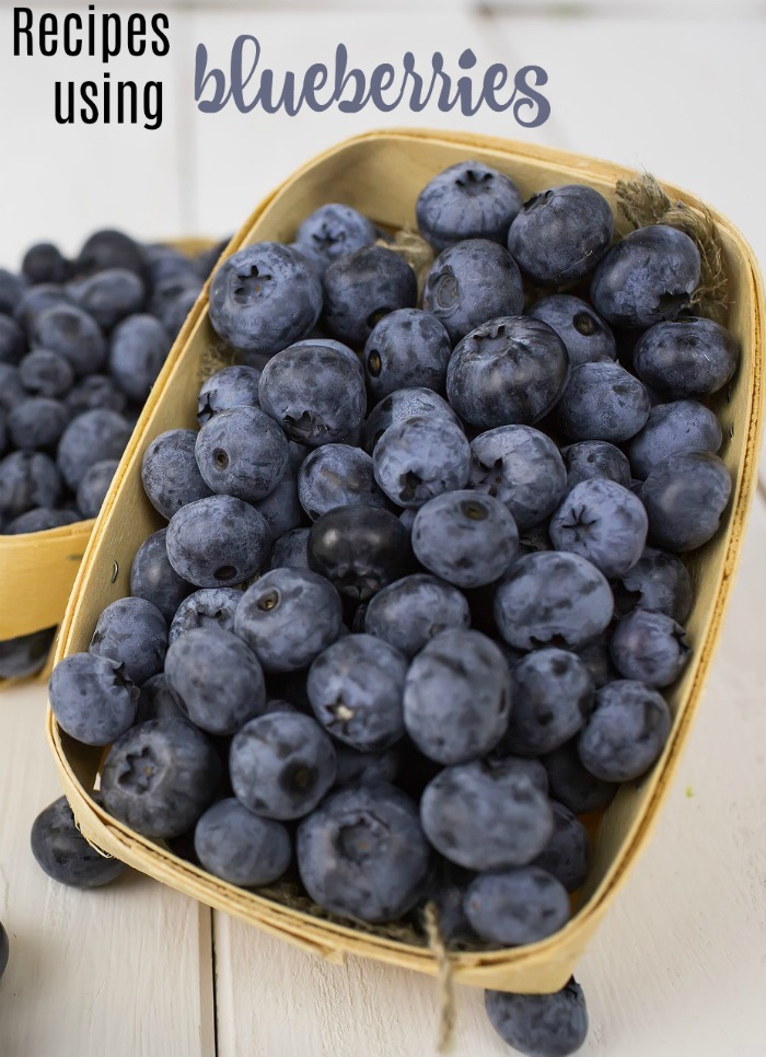 Get the fresh taste of summer with these blueberry recipes.