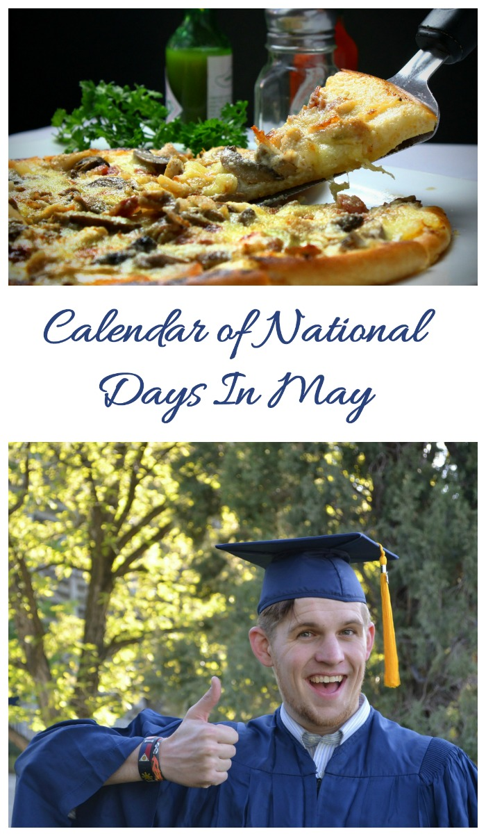 Calendar of National Days in May