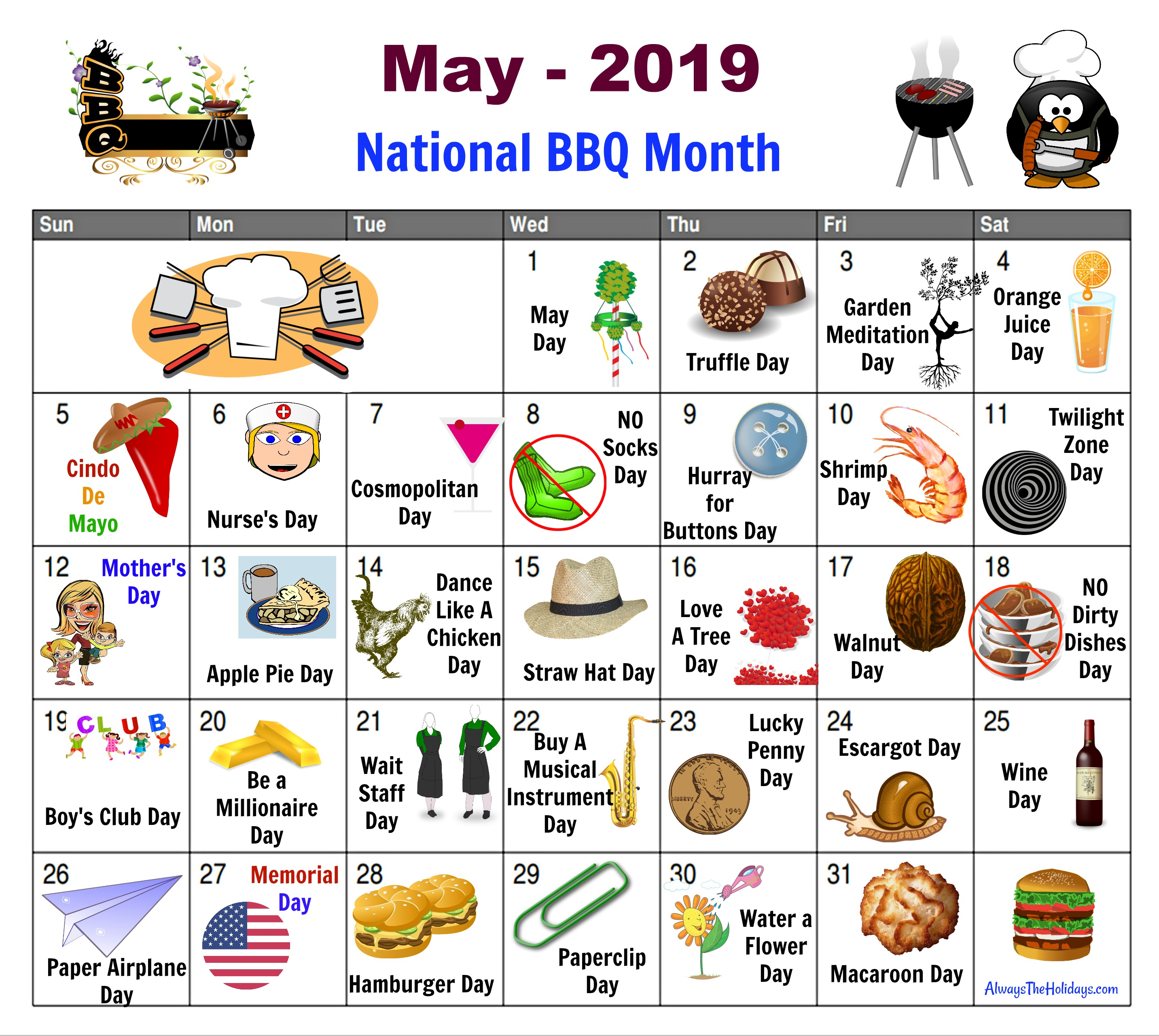 May National Day Calendar