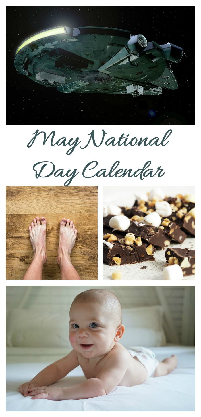 The May National Day Calendar is full of fun days to celebrate. Find out all about them on Always the Holidays