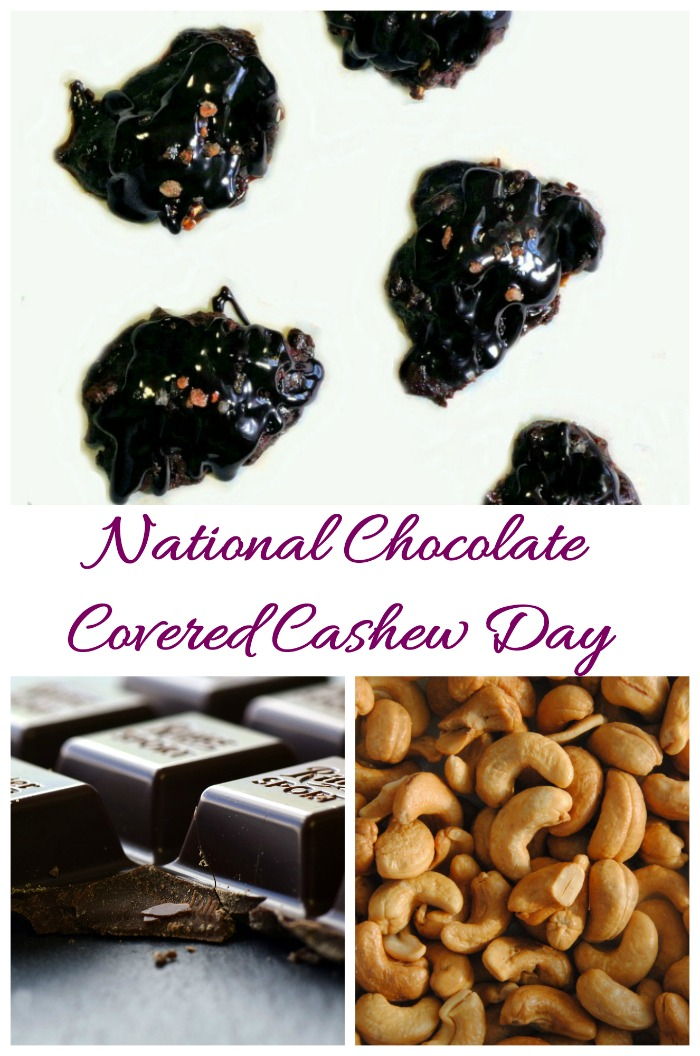 Celebrate National Covered Cashew Day (April 21) with these fun facts and some recipes at Always the Holidays