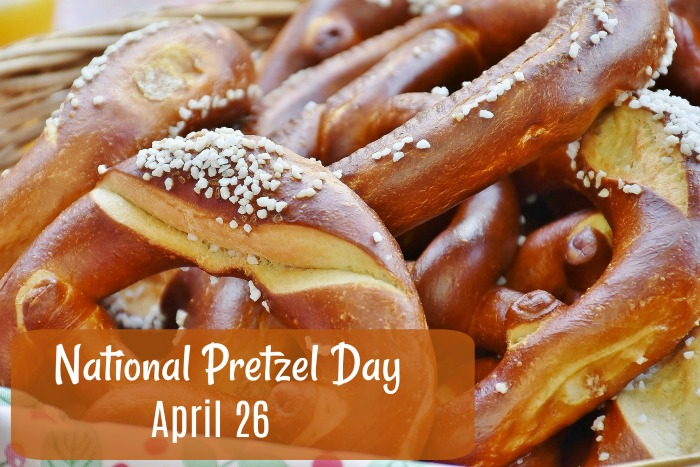 April 26 is National Pretzel Day