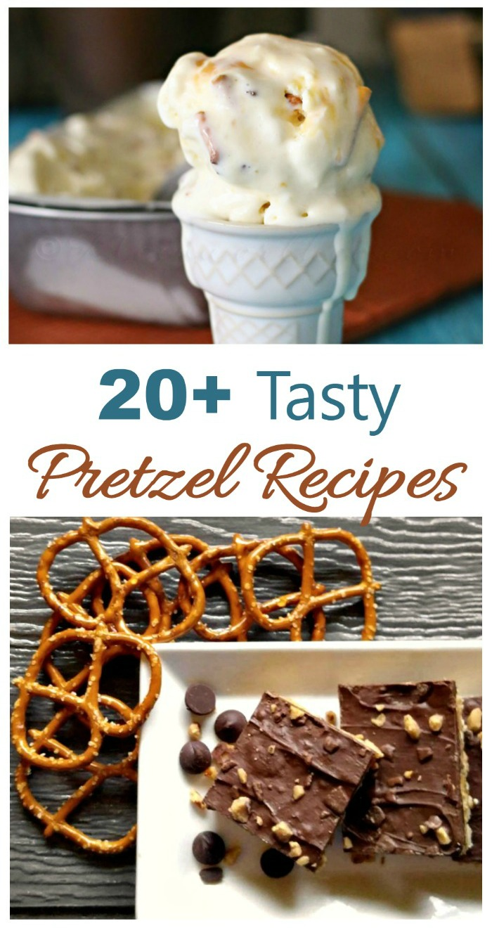 Check out these 20 recipes for homemade pretzels.