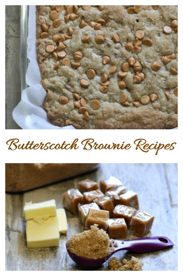 It's National Butterscotch brownie Day. Find out how to make this tasty sweet treat