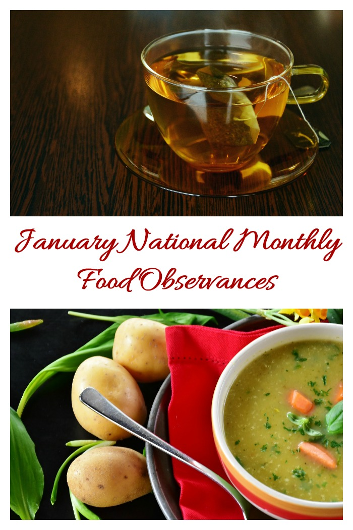 The whole month of January is celebrated for special foods. Find out what they are on Always the Holidays.