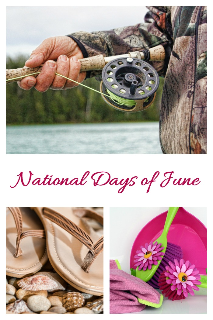National days of June feature lots of outdoor activities