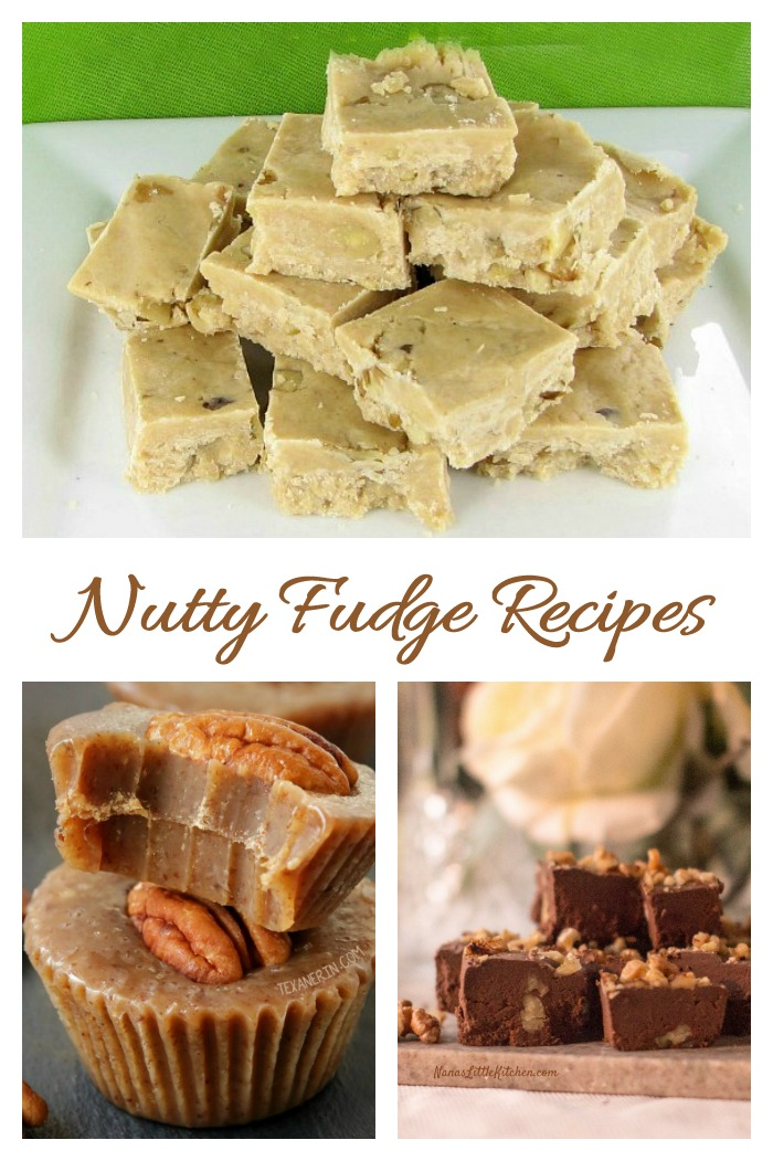 This collection of nutty fudge recipes will tempt your sweet tooth for sure.