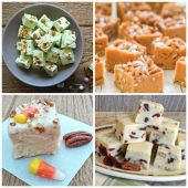 Collection of nutty fudge recipes