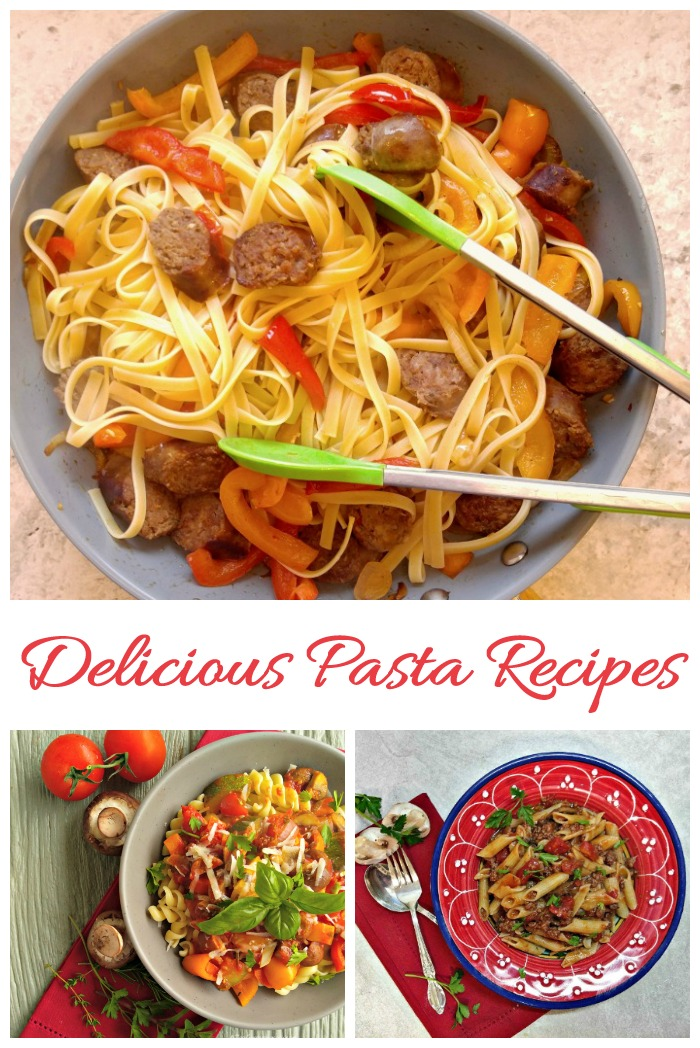 Delicious pasta recipes