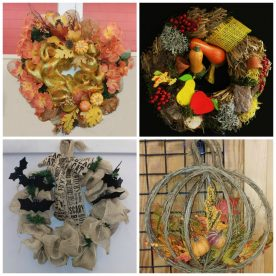 Wreath ideas for front door