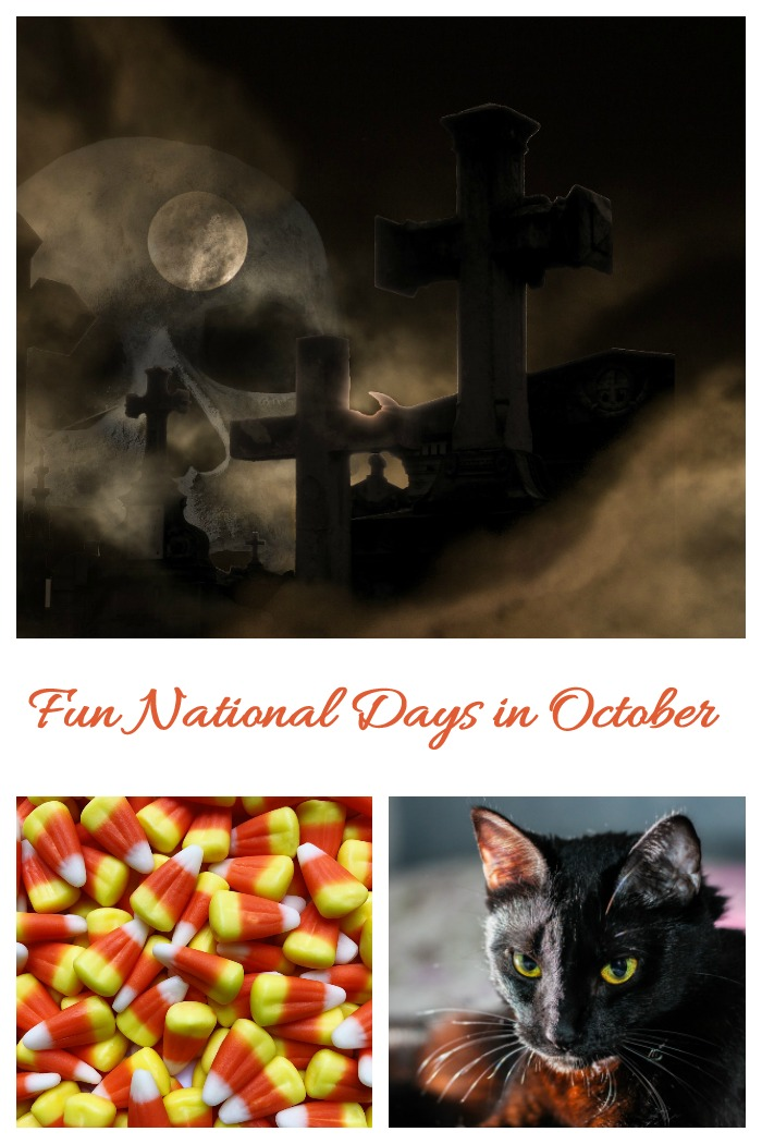This List of National Days in October gives lots of reasons to celebrate