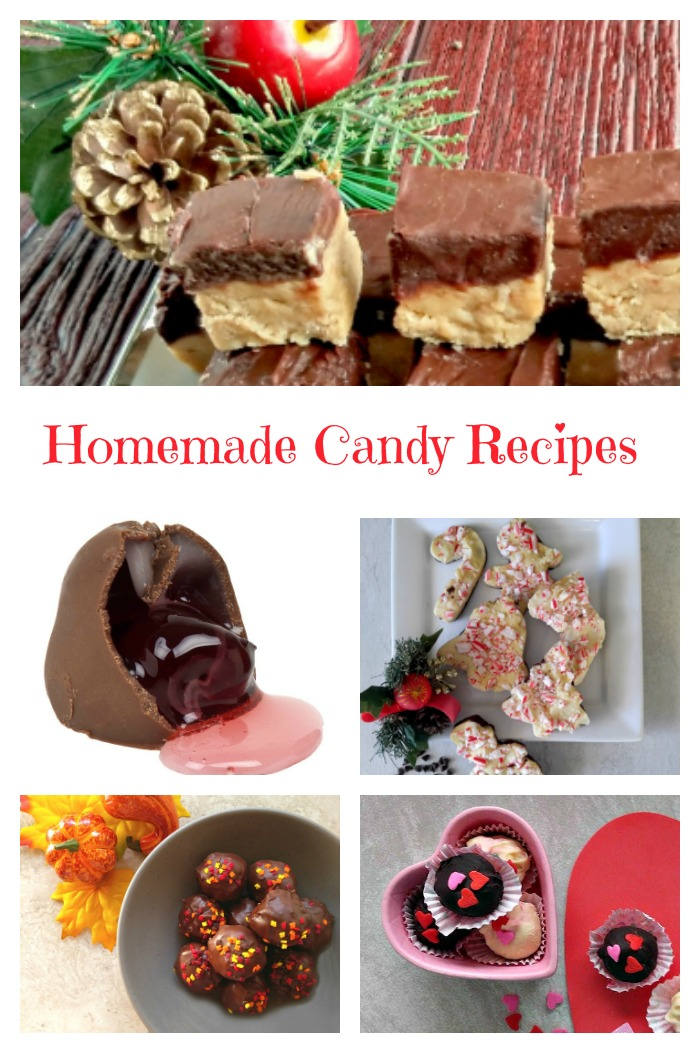 These recipes for homemade candy will get your holiday cooking off to a great start.