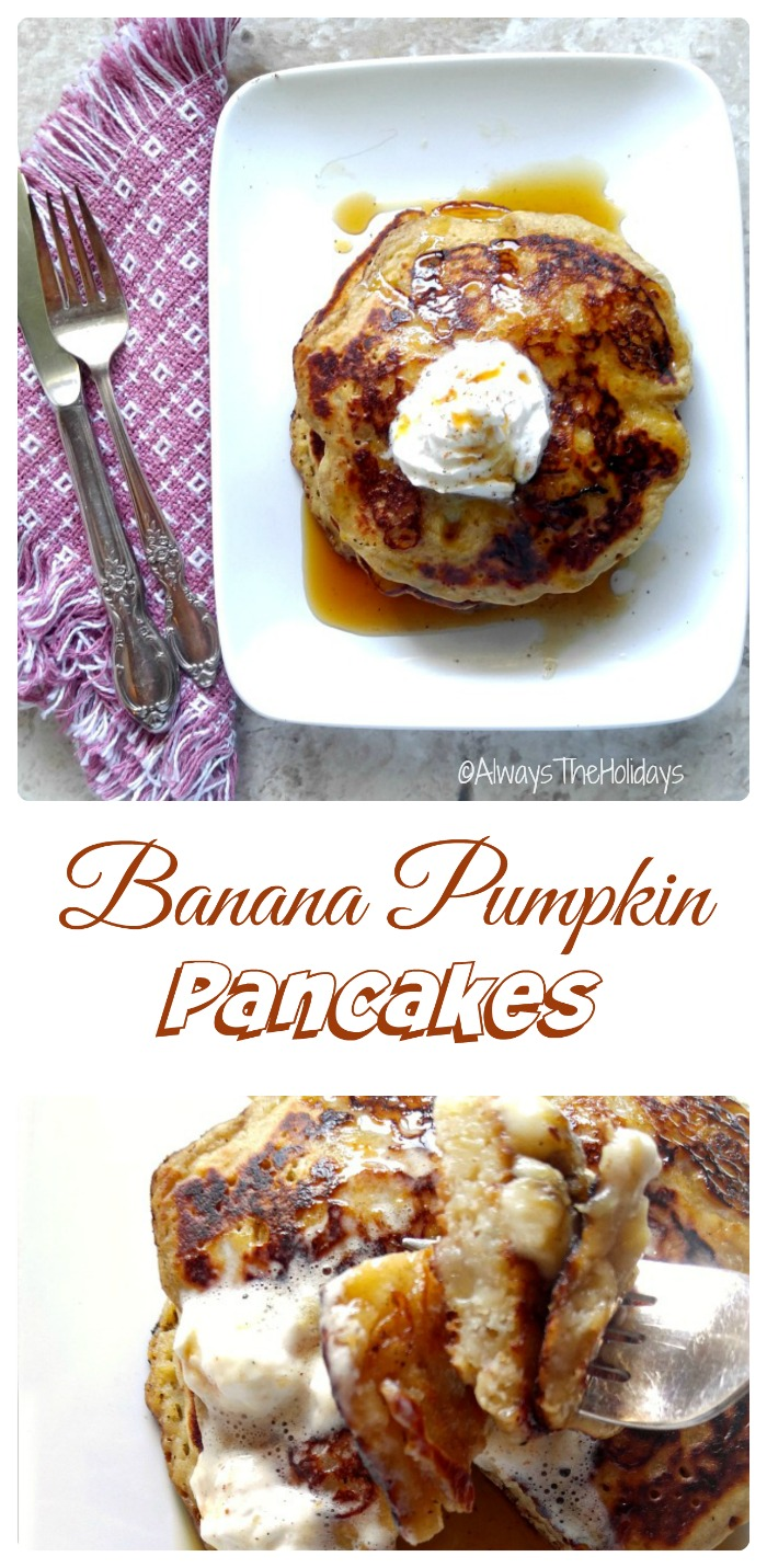 IBanana Pumpkin Pancakes - A Taste of Fall