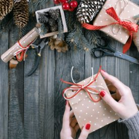 Unique Christmas wrapping ideas.