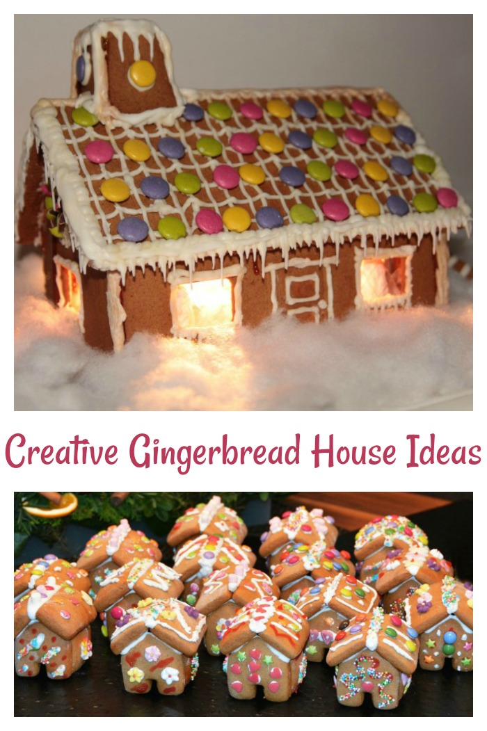 Bring home the joy of Christmas past with candy cane fences, gumdrop pathways and candy laden roof tops. These gingerbread house ideas will inspire you.