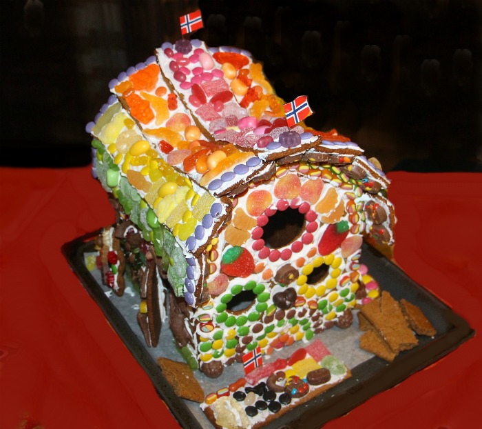 "Gingerbread ""stone"" cottage"