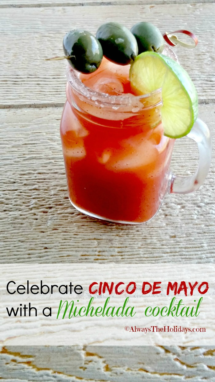 CMichelada Cocktail - Perfect for Cinco de Mayo