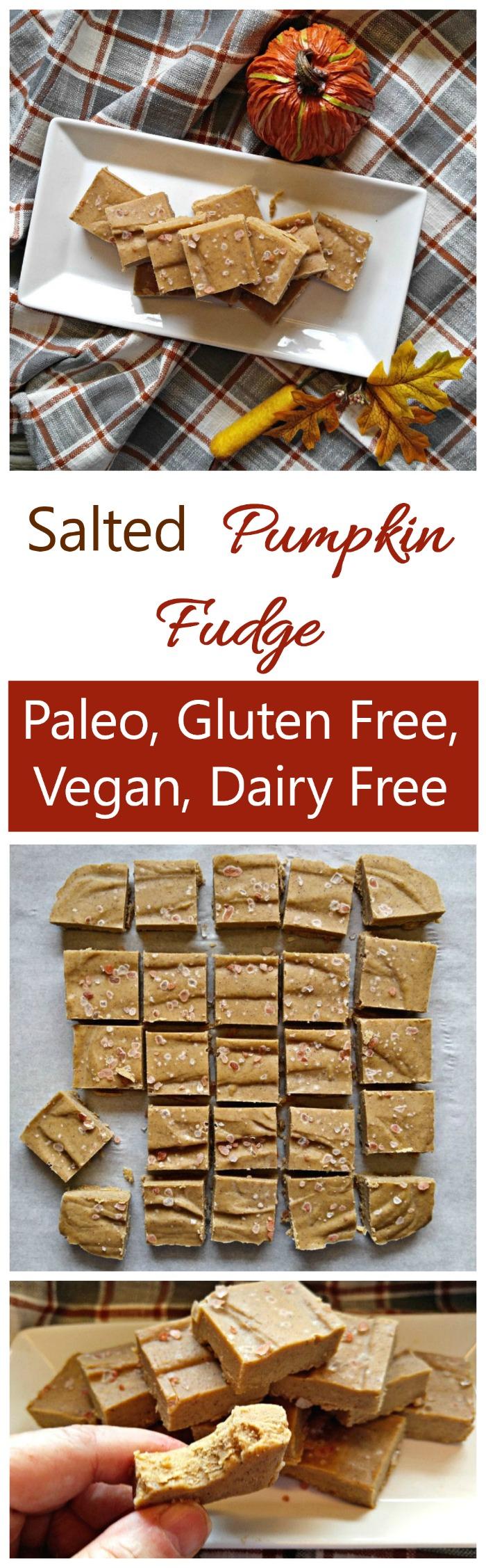 Pumpkin Fudge - Vegan and Paleo Treat