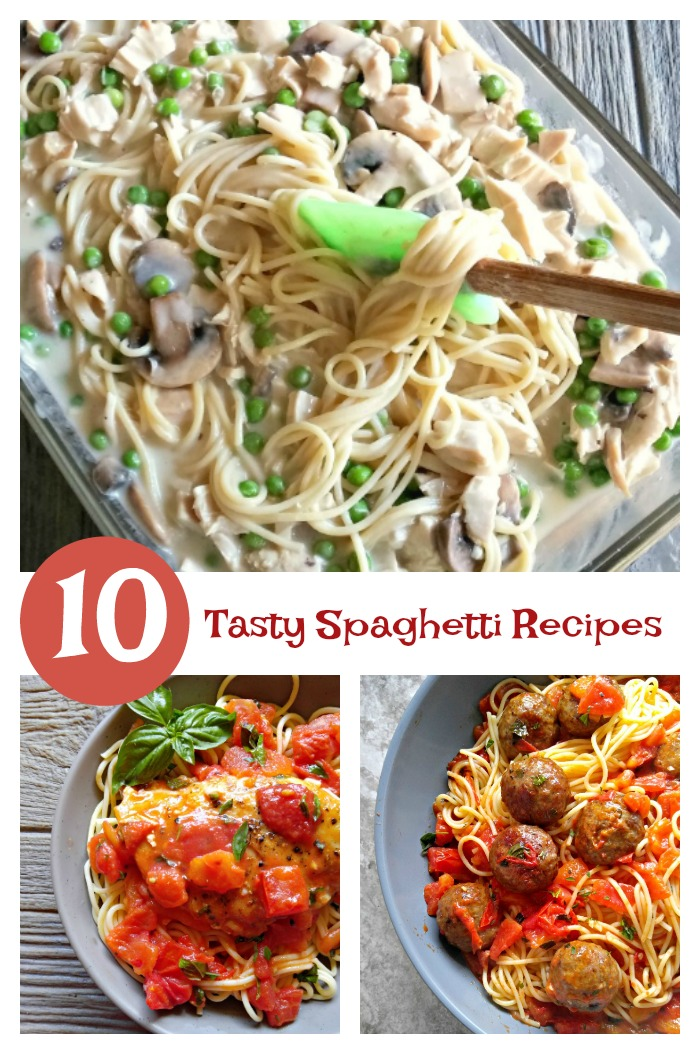 Looking for a new twist on Spaghetti? Try one of these delicious spaghetti recipes