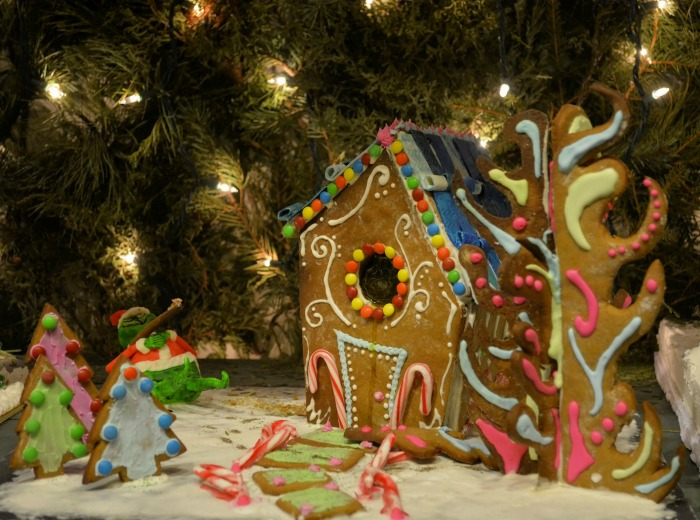 Whoville gingerbread house
