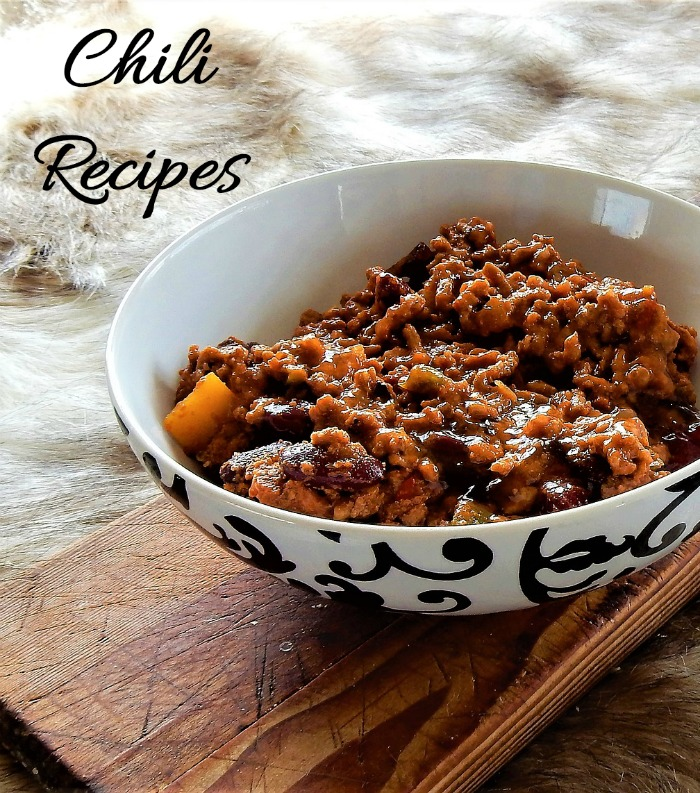 If you love the taste of a steaming hot bowl of chili, hop on over for one of these tasty chili recipes.