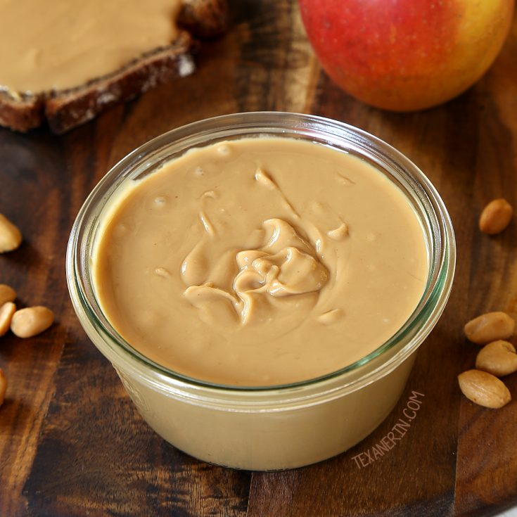 How to Make Peanut Butter in Only 5 Minutes! - Texanerin Baking