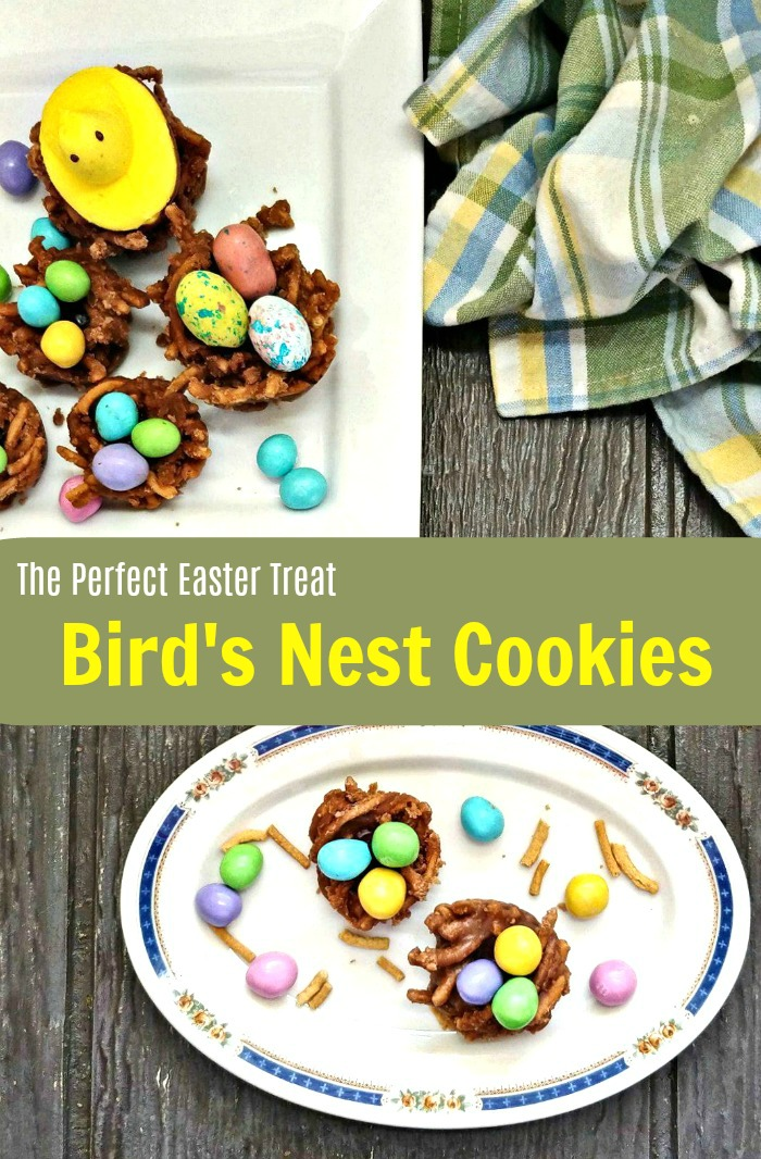 Easter Bird's Nest Cookies