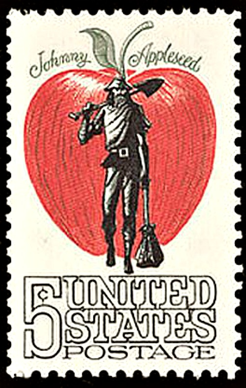 Johnny Appleseed stamp - 1965