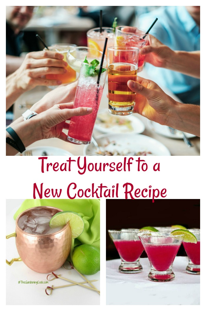 It's time to treat yourself to a new cocktail recipe.