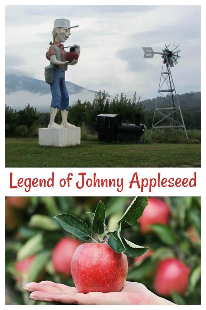 Find out more about the legend of Johnny Appleseed