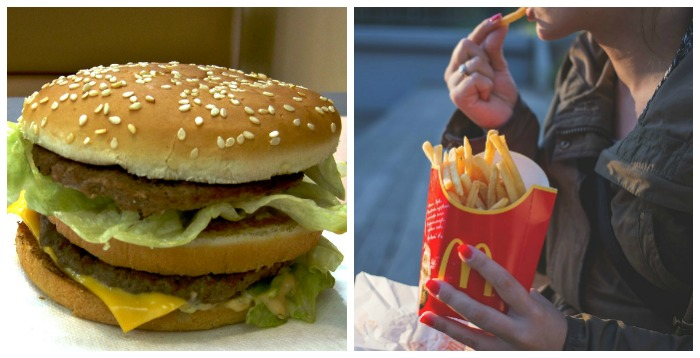 Big Mac and French Fries
