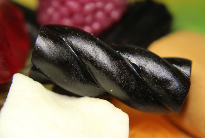 Piece of licorice