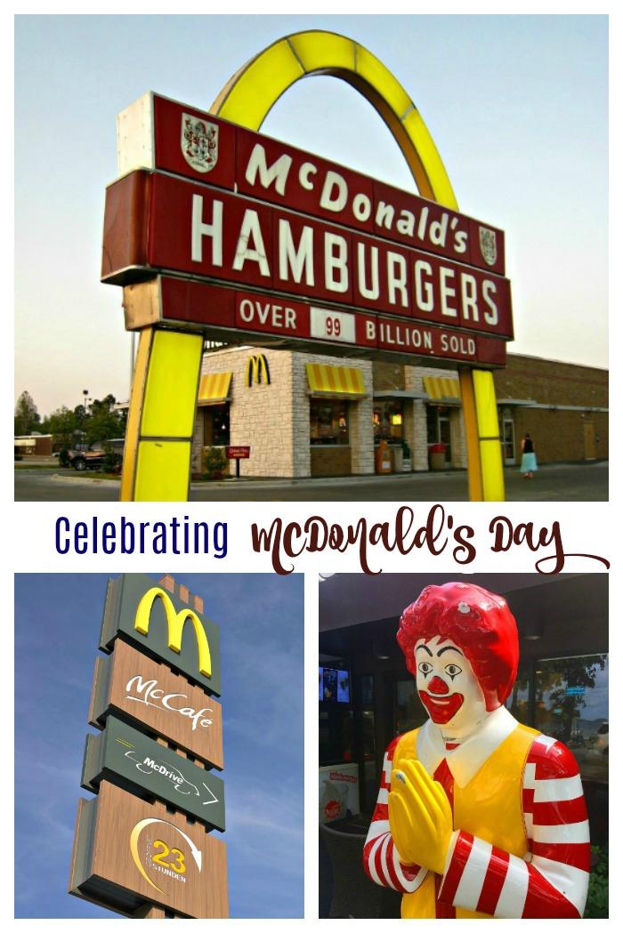 Celebrating McDonald's Day on April 15