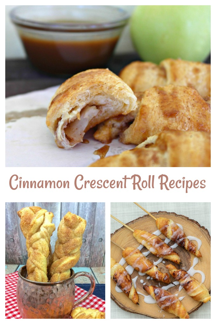 Try one of these cinnamon crescent rolls to start your day in a sweet way