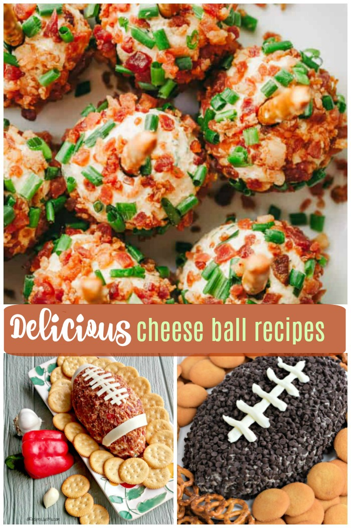 Delicious cheese ball recipes to treat the family and your friends