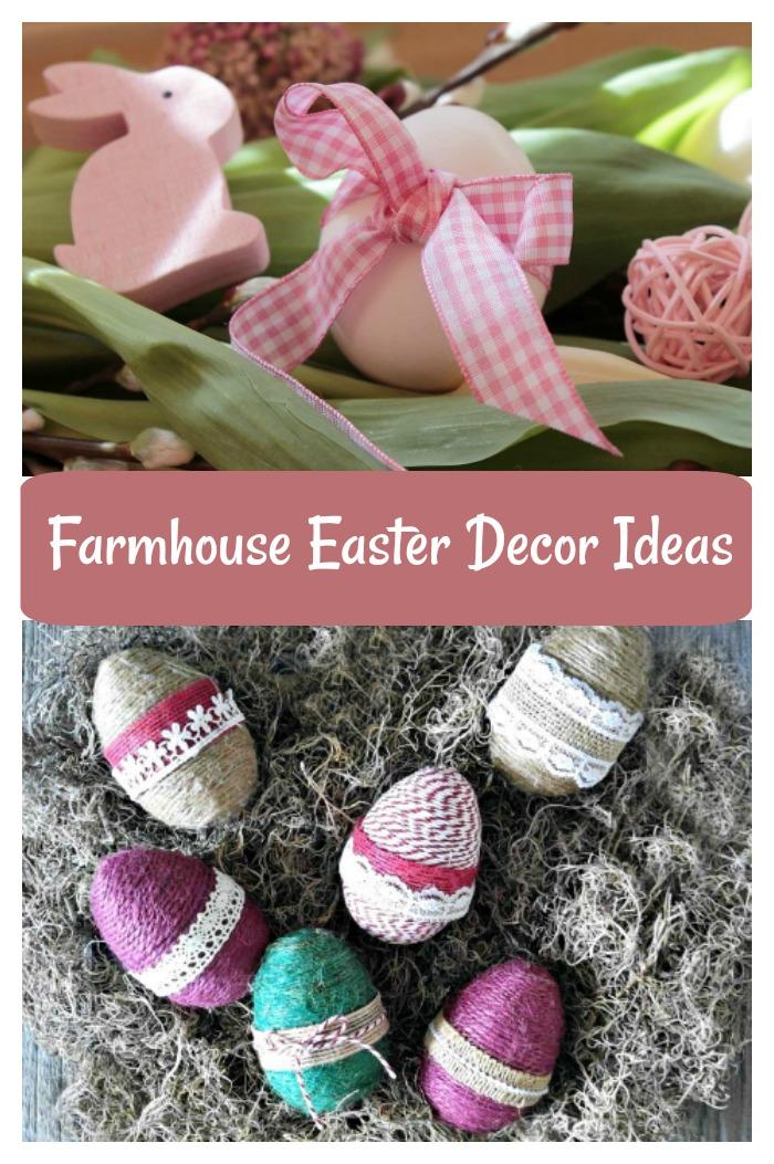 Farmhouse Easter Decor Ideas