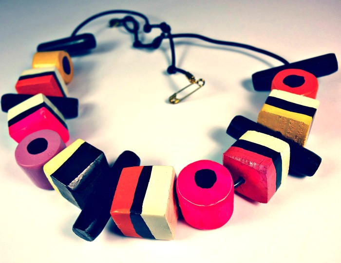 Make a Licorice necklace for National Licorice Day on April 12